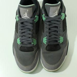 b4fceb4983c6 Nike Shoes - Nike Air Jordan Retro Green Glow IV 4 308497-033